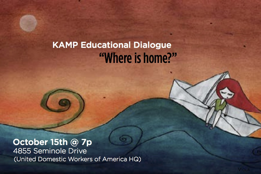 "Educational Dialogue: ""Where Is Home?"""