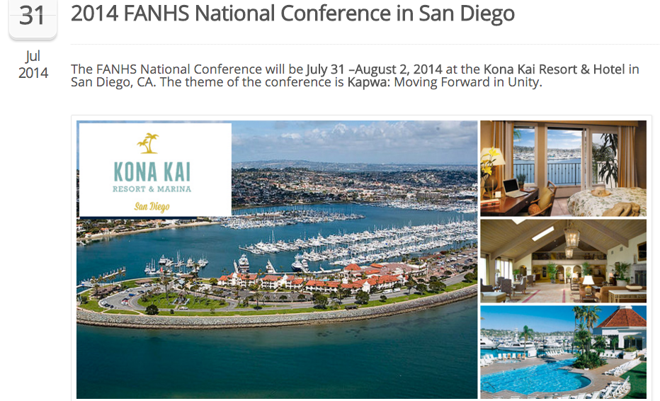 The FANHS Conference